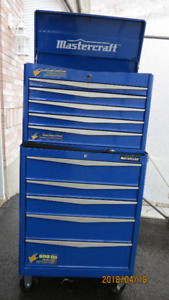 coffre a outils base + tete master 10 tiroirs 31 pouces