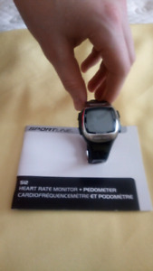 Heart Rate monitor + pedometer