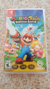 Mario + Rabbids Kingdom Battle. Nintendo Switch