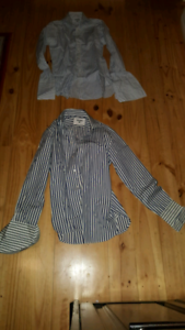 2x Yensen mens business shirts CUFFLINK Size 38