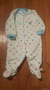 Carter's 6 months Fleece Sleeper