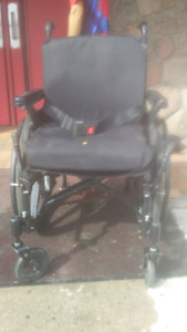Collapsable wheel chair