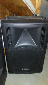 "Carvin 12"" passive pa speakers (2 of them)"