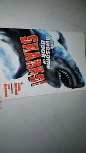 """The Awesome Book of Sharks"" large paperback book"