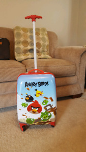 Angry birds suitcase
