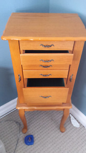 Free standing jewelry box - Price Reduced