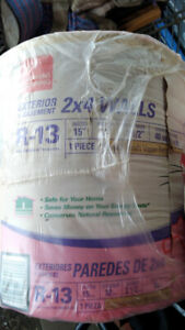 Owens Corning Pink Roll r13 Basement/exterior insulation