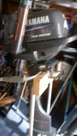 Yamaha 4hp 4 stroke outboard