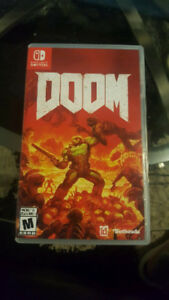 Nintendo Switch DOOM $55 *see price list* FIRM