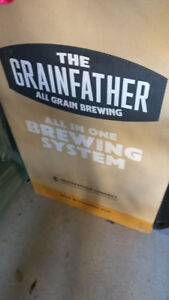 Brand new in box The Grainfather CONNECT All-In-One Beer Brewer