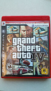 Grand Theft Auto IV for ps3 $7