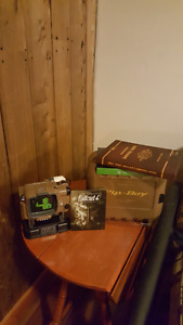 Fallout 4 Pip-Boy Edition w/ Hardcover Collectors Edition Guide.