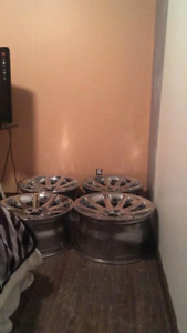 Wheels and Brand New Tires