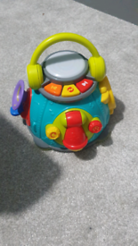 Child's musical toy with lights and music