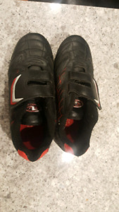 Kids soccer cleats sizes 10, 11, 12, 13, 1, 2
