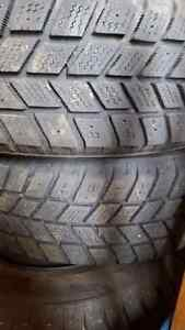 Four winter snow tires and rims  Kitchener / Waterloo Kitchener Area image 2