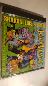 SHARON LOIS & BRAM WILD ANIMALS CD