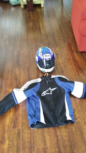 Women's helmet and jacket (small)