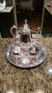 Silver Plated Tea Set (with box)