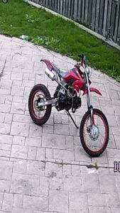 150cc red super Dirt bike