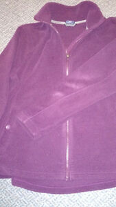 PLUM POLAR FLEECE JACKET