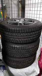 185 55 15 winter tire on Mag wheel  West Island Greater Montréal image 4