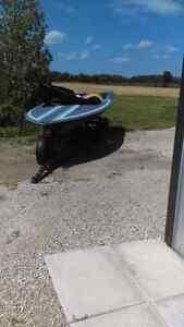 Checkmate boat and trailer