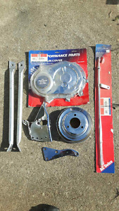Big Block Chevy Engine Chrome Accessories - $75 Takes All