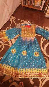 Afghani Dresses - 4 dresses in same style but different colors