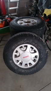 GMC sonoma wheels and tires