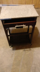 Portable Kitchen Island and Cart