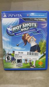 PS VITA Hot Shots Golf