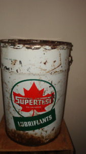 Supertest Oil Can