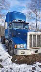 Peterbilt daycab with pto