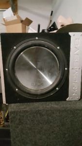 *REDUCED* Clarion Sub and Amp