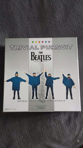 Trivial Pursuit Beatles edition board game