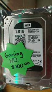 7200 RPM WD Blacl Gaming HD