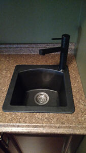 Blanco Silgranite bar sink and faucet St. John's Newfoundland image 1
