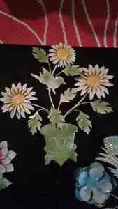 Fleur métal deco West Island Greater Montréal image 2