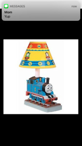 Thomas the Tank Engine ceramic lamp