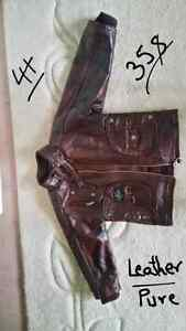 Leather jacket in like new condition