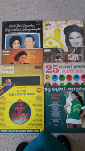 record albums C&W from the 50s & 60s.