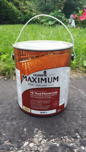 BRAND NEW! OLYMPIC MAXIMUM STAIN & SEALANT IN ONE (4 AVAILABLE)