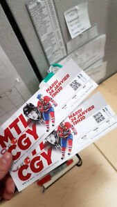 ((FAST SELL)) 2 HOCKEY TICKETS FOR TONIGHT GAME!!! CAN VS. FLAME