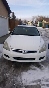 2007 Honda Accord  V6 (Summer/Winter tires)