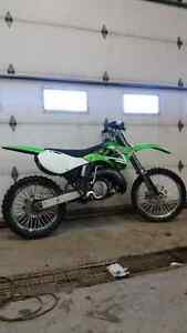 Kawasaki kx250 works great in great shape for sale or trade