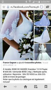 wedding dress/robe mariée