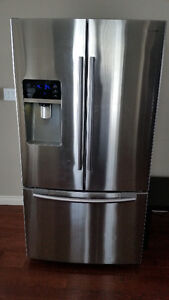 Samsung French Door Refrigerator  Fridge  Freezer Large 28 cu ft