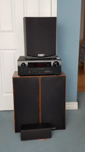 High end 5.1 denon/paradigm surround system