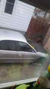 01 honda civic four door parts car